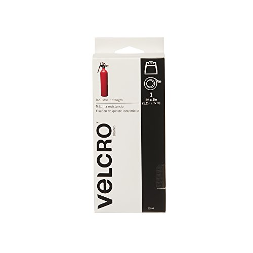 Velcro Brand Industrial Strength Tape (2 Inches X 4 Feet) – Black