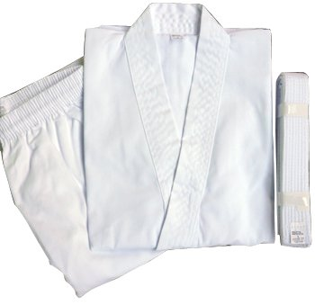 WILD FIT wild fit traditional karate clothing white belt with 4 No.