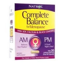 Natrol Complete Balance For Menopause Am Pm Formula Capsule - 30+30 Per Pack -- 3 Packs Per Case.