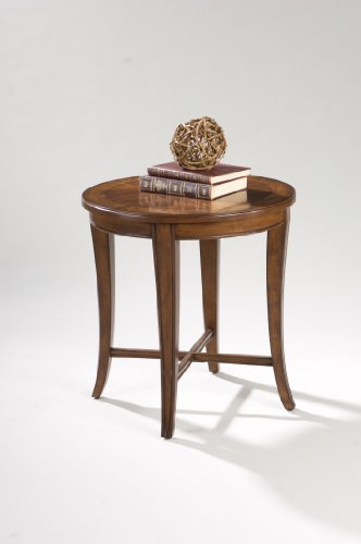 Image of Magnussen Kingston Wood Round End Table (T1171-05)