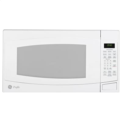 GE Profile : PEB2060DMWW 2.0 cu. ft. Countertop Microwave Oven - White