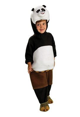 Kung Fu Panda Costume - One Color - Toddler front-814981
