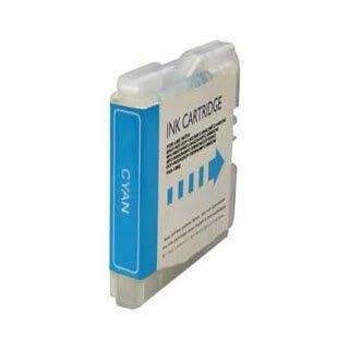 Brother LC970C / LC1000C (LC51) - Cyan Kompatible Drucker-Tintenpatrone für Brother DCP-130C DCP-135C DCP-150C DCP-153C DCP-157C DCP-330C DCP-350C DCP-353C DCP-357C DCP-540CN DCP-560CN DCP-750CN DCP-750CW DCP-770CW FAX-1860C FAX-1960C FAX-2480C MFC-260C MFC-885CW MFC-235C MFC-240C MFC-3360C MFC-440CN MFC-465CN MFC-5460CN MFC-5860CN MFC-660CN MFC-665CW MFC-680CN MFC-685CW MFC-845CW