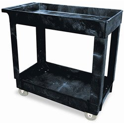 2-Shelf 300 Pound Capacity Service/Utility Cart
