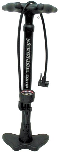 Planet Bike 1007-3 Comp Floor pump with Love Handle (More Durable than OId Comp)