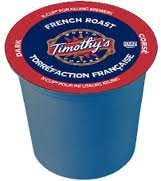 Timothy'S French Roast Coffee * 4 Boxes Of 24 K-Cups * front-534358