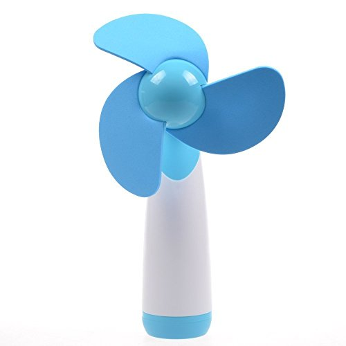 adecco-llc-blue-portable-mini-air-fan-battery-operated
