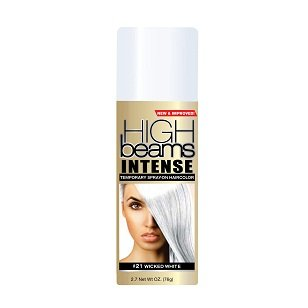 High Beams Intense Temporary Spray-On Hair Color - Wicked White 2.7 oz