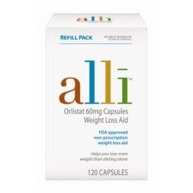 Alli Diet Loss Plan 120 Count Supplements  by ALLI DIET PLAN