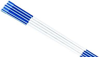 Fibermarkers 516quot48quot Pack Of 20 Blue Color Reflective Snow Markers Driveway Reflective Markers