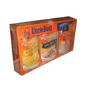 Uncle Ben'S Ready Rice 6 Pouch Value Assortment Box