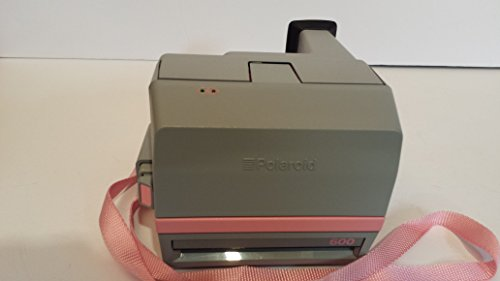 Vintage Polaroid Pink & Gray Cool Cam 600 Instant Camera 5