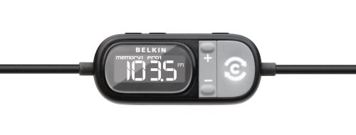 Belkin Tune Cast Auto FM Transmitter for iPod and iPhone (Black)