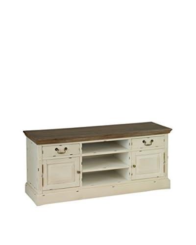 Eclectische collectie TV-meubel Lauren beige / bruin