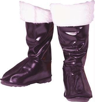 Deluxe Santa Boot Tops Costume Accessory front-533605