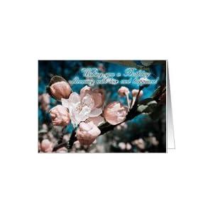 Amazon.com: apple blossom birthday greeting card artist
