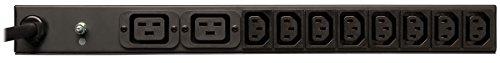 Tripp Lite PDUH20HVL6 PDU Basic 208V / 240V 20A 2 C19; 12 C13 L6-20P Horizontal 1URM