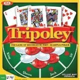 Tripoley Deluxe Board Game w Cards, Chips & More