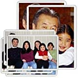 Freez-A-Frame Magnetic Combo Pack with 4 - 4 x 6 & 2 - 5 x 7 Magnetic Photo Frames