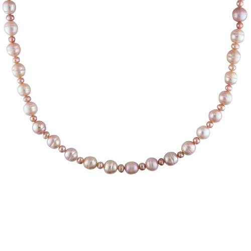 Fresh Water Pink Pearl Endless Necklace (8-9 mm)