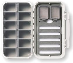 Rio - C&F Designs Large Waterproof 12 Compartment - 5 Row Nymph Box