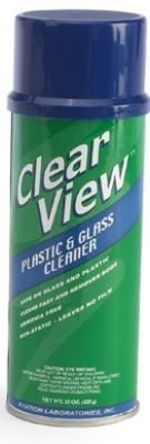 Clear View Plastic & Glass Cleaner by Aviation Laboratories - Single Package (Plastic Glass Cleaner compare prices)