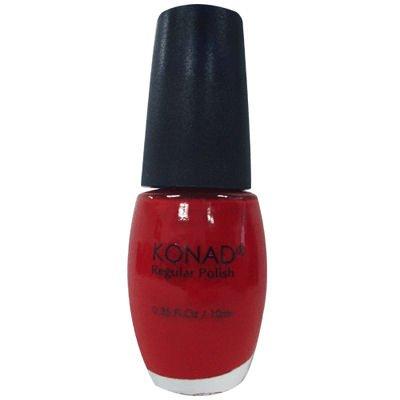 Konad Nail Art Stamping Polish 10ml - Solid Red