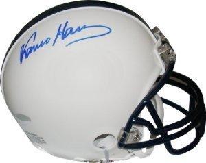 Franco Harris signed Penn State Nittany Lions Replica Mini Helmet- Steiner Hologram