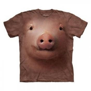 The Mountain Men's Pig Face T-shirt