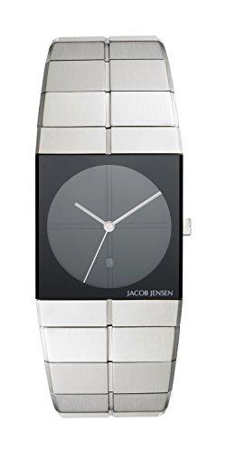 Jacob Jensen Icon Unisex-reloj analógico de cuarzo de acero inoxidable Jacob Jensen 210