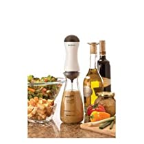BonJour Salad Chef Salad Dressing Maker with Automatic Battery Powered Mixer