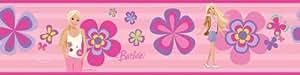 RoomMates RMK1159BCS Barbie Deco Peel & Stick Border