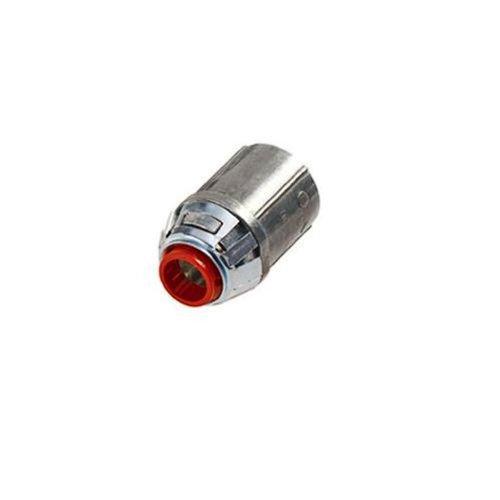 Bridgeport 38ASP Flexible Metal Conduit Whipper-Snapper Sanp-In Connector, 3/8-Inch