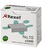 Rexel No 10 Agrafes, pack de 5000 agrafes