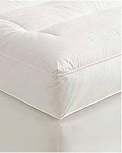 5 inch Queen Goose Down Mattress Topper Featherbed / Feather Bed Baffled