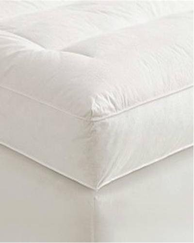 "Best Prices! 5"" Twin XL Goose Down Mattress Topper Featherbed / Feather Bed Baffled"