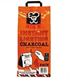 Instant Light Charcoal 4 x 1kg by Big K Products