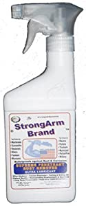 ARM116 StrongArm Brand Penetrating Tool & Gun Oil Corrosion & Rust Remover Waterproofer Cutting Lube (w32) from StrongArm Brand Co.