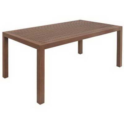 MBM 72.00.0203 Tisch Resysta 90 x 160, gelattet burma günstig bestellen