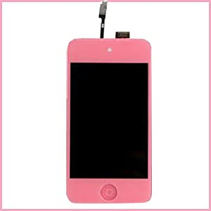 pink Digitizer with LCD Screen For iPod Touch 4 4G 4th Gen Assembly