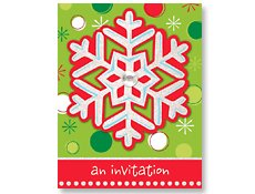Holiday Buzz Invitations 8 per pack - 1
