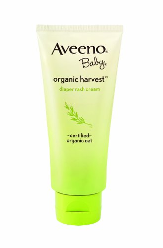 Aveeno Organic Baby Harvest Diaper Rash Cream, 3 Ounce