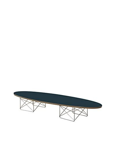 Manhattan Living Wire Wood Coffee Table, Black