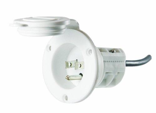 MinnKota MKR-23 AC Power Port (White)