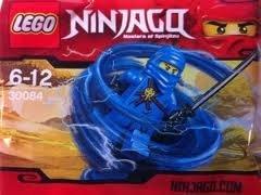 LEGO Ninjago 30084 Blauer Ninja Jay + Schwarzes Katana ULTRASELTENER Exklusiv Artikel günstig als Geschenk kaufen
