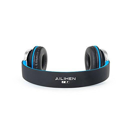 Ailihen C8 Lightweight Foldable Headphones with Microphone