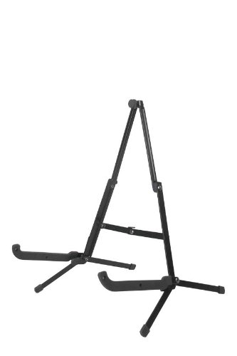 Guardian Folding Guitar Stand (A-Shape, Black)