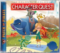 0909159 Colonel's Colossal Character Quest CD (Patch the Pirate), Ron Hamilton