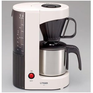 TIGER コーヒーメーカー ステンレスサーバータイプ カフェクリーム6杯用 ACX-S060WT