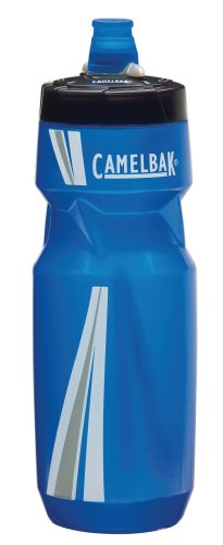 CamelBak Podium Water Bottle (24 oz, Blue/Silver)